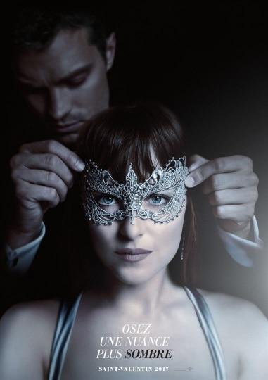 50 Nuances Plus Sombres, sortie du film prévue pour février 2017.